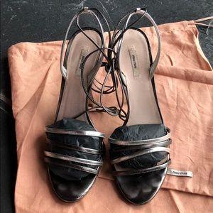 Miu Miu strappy sandals size 37